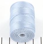c-lon bead cord 0.5mm - blue morning