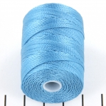 c-lon bead cord 0.5mm - caribbean blue