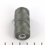 c-lon fine weight bead cord 0.4mm - gunmetal