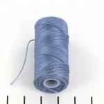 c-lon fine weight bead cord 0.4mm - light blue