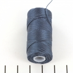 c-lon fine weight bead cord 0.4mm - indigo