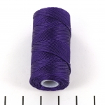 c-lon fine weight bead cord 0.4mm - purple