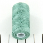 c-lon fine weight bead cord 0.4mm - sage