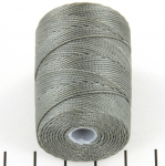 c-lon bead cord 0.5mm - gunmetal
