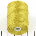 c-lon bead cord 0.5mm - lemongrass