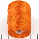 c-lon bead cord 0.5mm - light copper