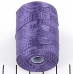 c-lon bead cord 0.5mm - medium purple