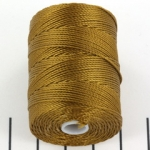 c-lon bead cord 0.5mm - bronze
