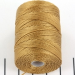 c-lon bead cord 0.5mm - dark tan