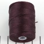 c-lon bead cord 0.5mm - eggplant