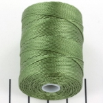 c-lon bead cord 0.5mm - fern