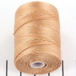 c-lon bead cord 0.5mm - ginger