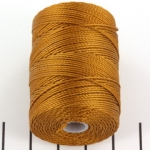 c-lon bead cord 0.5mm - gold