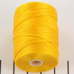 c-lon bead cord 0.5mm - golden yellow