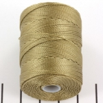c-lon bead cord 0.5mm - khaki