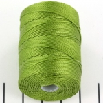 c-lon bead cord 0.5mm - moss