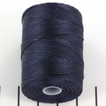 c-lon bead cord 0.5mm - navy