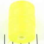 c-lon bead cord 0.5mm - neon yellow