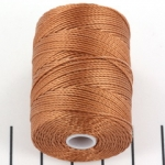 c-lon bead cord 0.5mm - nutmeg