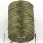 c-lon bead cord 0.5mm - olive