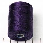 c-lon bead cord 0.5mm - paars