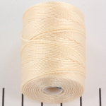 c-lon bead cord 0.5mm - peach glow