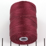 c-lon bead cord 0.5mm - wine