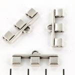 cymbal connector Piperi III voor Tila - antique silver plated