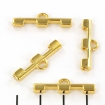 cymbal connector Soros III for tila - 24kt gold plated
