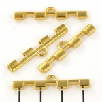 cymbal connector Soros IV voor tila - 24kt goud plated