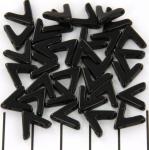 ava bead - jet black