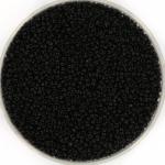 charlotte seed beads 15/0 - jet black