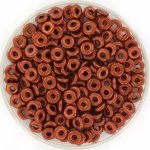 O bead 2x4 mm - copper