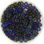 O bead 2x4 mm - peridot azuro