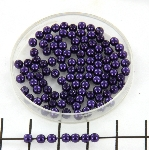 glasparels 3 mm - purple