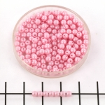 basiskraal rond 3 mm - powdery pastel pink