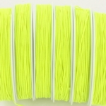 elastiek koord 0.8 mm - neon geel