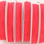elastiek koord 0.8 mm - neon roze