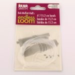 endless loom - loom bands 15.2 cm transparant