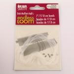 endless loom - loom bands 7 inch transparant
