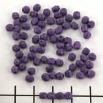 Czech faceted round 4 mm - metallic suede purple