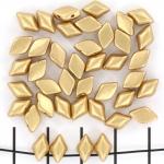 gemduo - matte metallic flax
