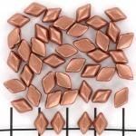 gemduo - matte metallic bronze copper