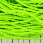 imitation braided leather 3 mm - neon light green