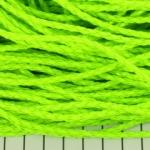 imitatie gevlochten leer 3 mm - neon lichtgroen