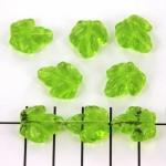 glazen blad - groen 15mm