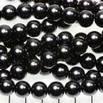 glasparels 10 mm - zwart