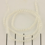 glass pearl 2 mm - bright white