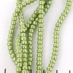 glass pearl 4.5 mm - light green