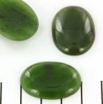 cabochon 30 x 22 mm - jade